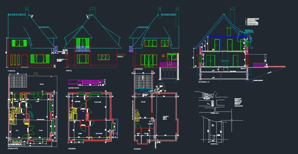 AutoCAD, plan tekenen, plan hertekenen, plan digitaliseren plan, dwg, dxf, lay-outs, layers